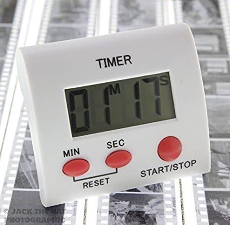 Pixel Peeper DT-1 Electronic Darkroom Timer for Film /& Print Processing /& Developing.