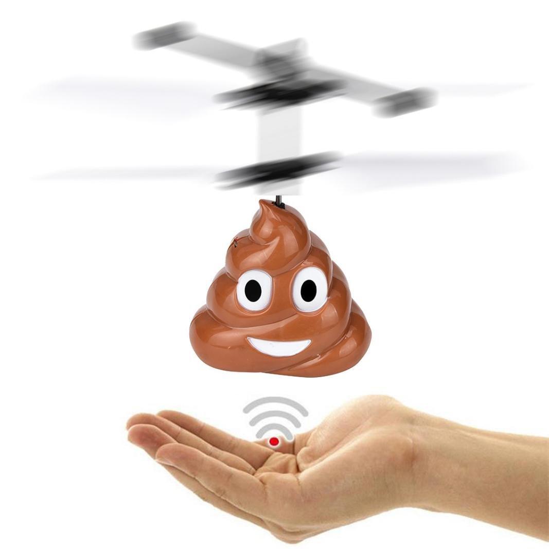 bescita mano Moscas Poop Ball Mini Inducción RC Aviones Moscas ...