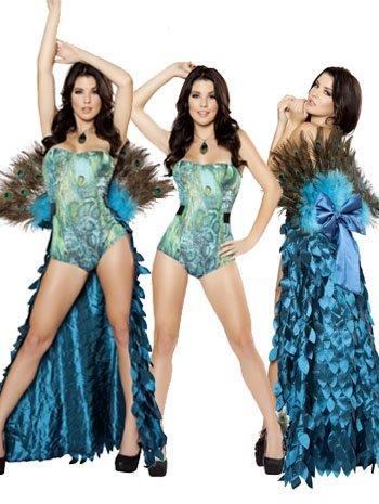 Pretty Peacock Costume - MEDIUM/LARGE