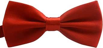 Sallydream Corbata de Seda para Hombre Casual Corbata y pajarita ...