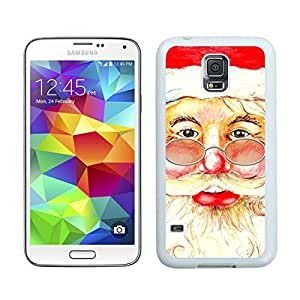 Hot Sell Santa Claus christmas White Samsung Galaxy S5 Case 2