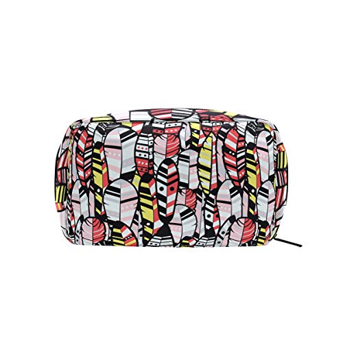American Hippie Cosmetic Bag Makeup Case Toiletry Pouch ()
