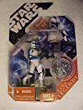 Star Wars * BLUE Clone Trooper Officer * 30th Anniversity SAGA Legends Series * PLUS Exclusive Collector Coin