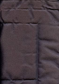 Linder 0509//92//807//160 Monaco T/ête de Lit /à Pattes Ouatin/ée Polyester//Coton Anthracite 85 x 160 cm