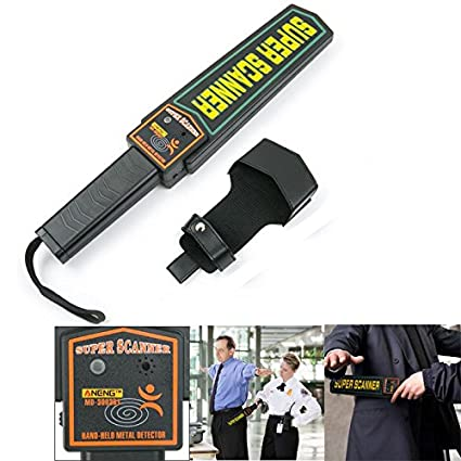 DyNamic Aneng Md3003B1 Detector De Metales Portátil De Seguridad De Alta Sensibilidad Escáner De Metal Alarma