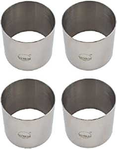 Plating Forms Stainless Steel Ring Mold Sets (4 Count) (3