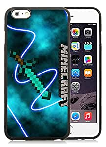 Unique iPhone 6 Plus 5.5 Inch TPU Screen Case ,Popular And Durable Designed Case With Minecraft 6 Black For iPhone 6 Plus Phone Case Great Quality Cover Case