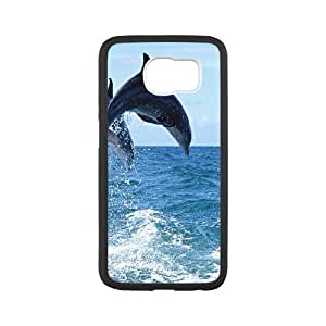Samsung Galaxy S6 - Personalized design with Dolphin pattern£¬make your phone outstanding