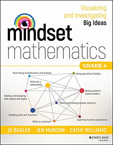 Mindset Mathematics: Visualizing and Investigating Big Ideas, Grade 4 cover