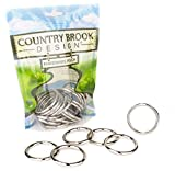 50 - Country Brook Design   1 1/2 Inch Welded Heavy O-Rings