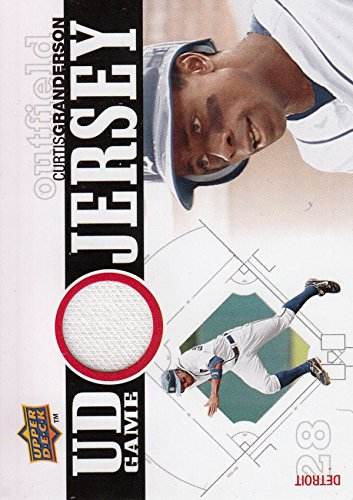 2010 Upper Deck UD Game Jersey #CG Curtis Granderson Jersey - Baseball Card