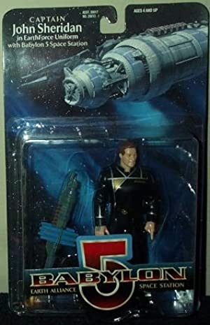 Babylon 5 Captain John Sheridan In EarthForce Uniform Action Figure by Babylon 5