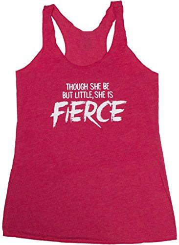 Though Little Fierce Womens Workout