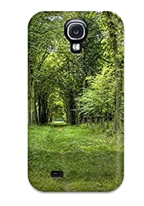 Awesome Forest Flip Case With Fashion Design For Galaxy S4 by lolosakes