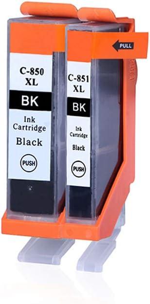 GYBN Large Capacity Color Printer Cartridge Set for Canon PGI-850 Cartridge mg5480 MX728 928 851 iP8780 Cartridge-5-set
