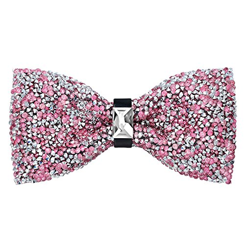 Oliver George Glitter Bow Tie -