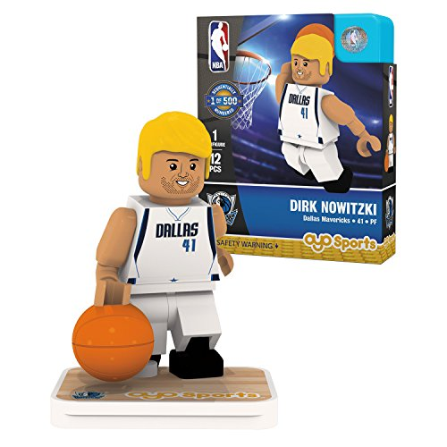 Dallas Mavericks Block - OYO Sports NBA Minifigure Dallas Mavericks Dirk Nowitzki