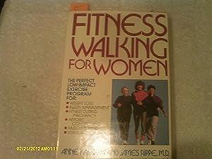 Hardcover Fitness Walking For Women Book