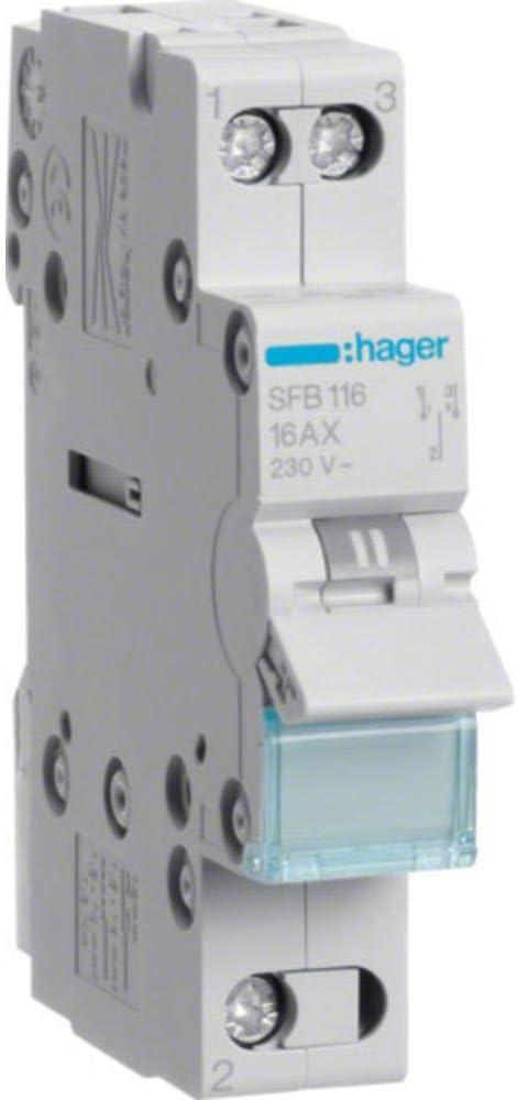 SFB116 Hager Gruppenschalter REG 1S 16A 400V 1TE
