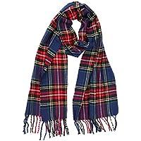 Cashmere Scarves for Kids Girls Boy Winter Warm Soft Blanket Scarf Tassel Shawl
