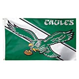 NFL Philadelphia Eagles Retro Flag Deluxe Helmet, 3' x 5'