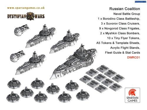 Amazon.com: Ruso Naval de la Coalición Grupo de batalla ...