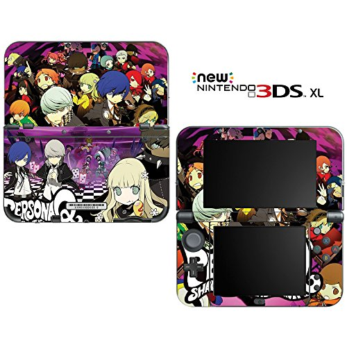 Persona Q: Shawdow of the Labyrinth Decorative Video Game Decal Skin Sticker Cover for the