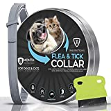 Flea and Tick Collar for Dogs with Flea Comb - Safe and Effective