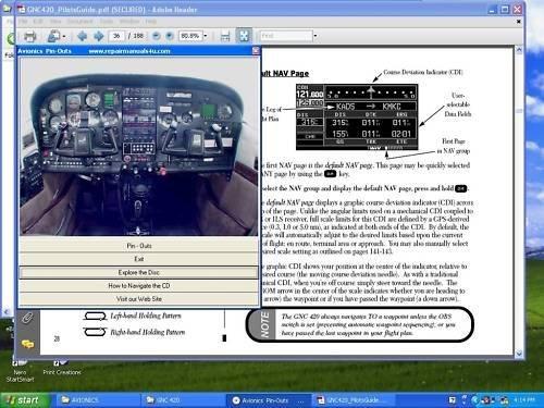 Aircraft Avionics Wiring Pin Out Installation Manuals