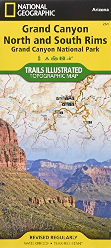 Grand Canyon, North and South Rims [Grand Canyon National Park] (National Geographic Trails Illustrated - In Ri Outlets
