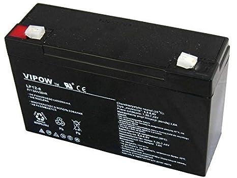 Vipow Batterie gel 12/V 12/Ah AGM /à d/écharge profonde sans entretien pour scooter