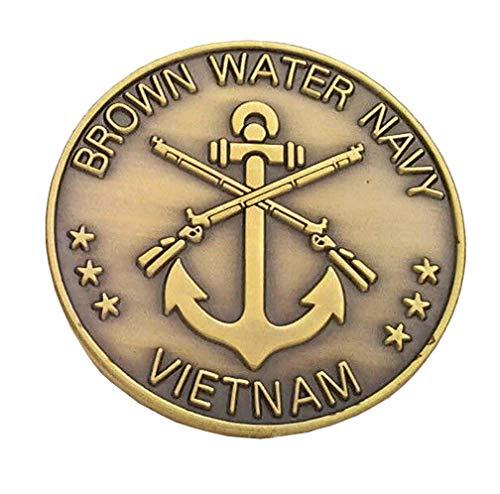 Brown Water Navy Vietnam Military Veteran Challenge Coin 22320 HO