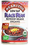Bearitos, Refried Beans, Black Bean, Organic, Vegetarian, 16 oz