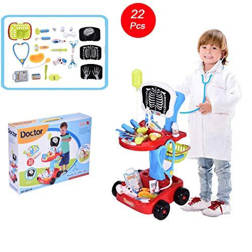 Auvem Kids Doctor Toy Set, Docto...