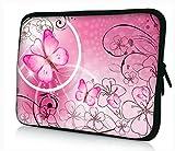 Pink Butterflies & Flowers 17 inch 17