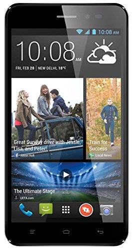 Tecmax 5.3 Quad Core High Performance Dual SIM Unlocked SIM-Free Smart Phone-Black