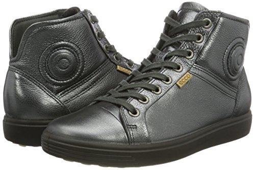 Soft Donna 7 1602dark Shadow Sneaker Ladies Ecco Grigio Alte FwPCndqFxp