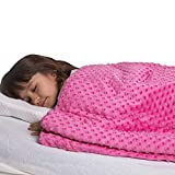 Super Soft 7 Lbs Weighted Blanket for Kids with