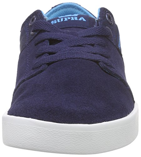 Supra Basses Stacks White Nvy Ii Bleu Mixte navy Sneakers Adulte qraWq7xtBw
