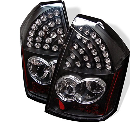 Spyder Black Led Tail Lights 300C