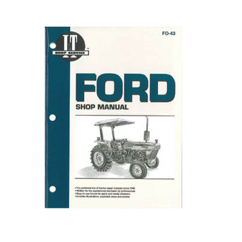 Amazon.com: SMFO43 FO-43 FO43 New Ford Tractor Shop Manual 2810 2910 3910:  Industrial & Scientific