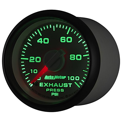 Auto Meter (8526) Dodge Match 2-1/16'' 0-100 PSI Mechanical Exhaust Pressure Gauge by Auto Meter (Image #3)