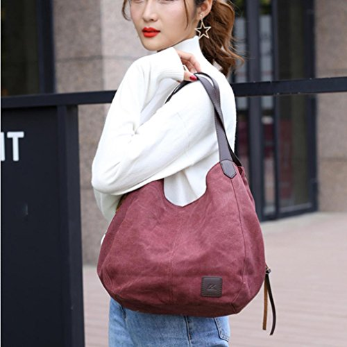 Clearance High Handbags Bags Shoulder Sale Quality Canvas Xinantime Bag Women Handbags Purple Bag Vintage Female Hobos Messenger Single Tote CqXtE