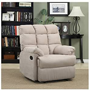 Amazon Com Armchair Recliner Chair A Large Microfiber