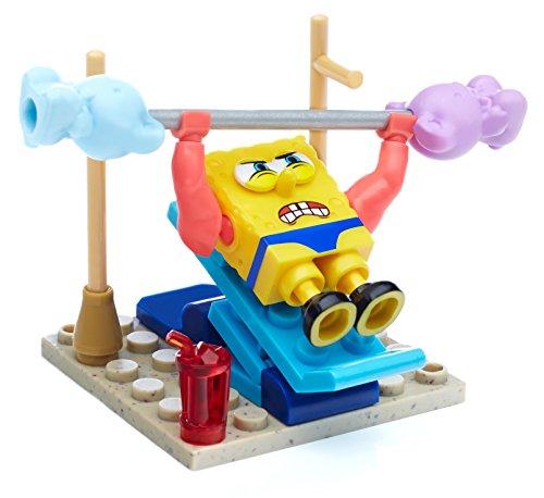 Megabloks Spongebob Squarepants Spongebob's Wacky Gym Building Playset]()