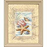 #5: Dimensions Needlecrafts Counted Cross Stitch, Shells In The Sand