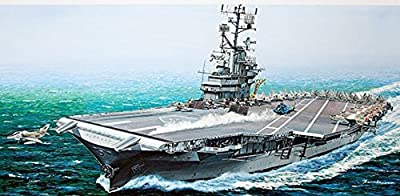 Model Rectifier 64008 1 By 350 Uss Intrepid Cv11 Essex Class Angled Deck Aircraft Carrier by Model Rectifier