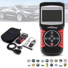 Car Code Reader, iNNEXT OBD2 OBDII EOBD Code Reader Auto Code Scanner OBD2 Scanner Car Code Reader Tester Diagnostic Interface Scan, Auto Code Reader for US Asian European Vehicles (KW820)