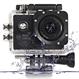 Sports Outdoors Best Deals - OFKP® SJ7000 Wifi Outdoor Sports Camcorder Camera Full Hd 1080p 2.0 Inch with Waterproof Case 170 Degrees Hd Wide-angle Lens 30m Waterproof Dv Camcorder