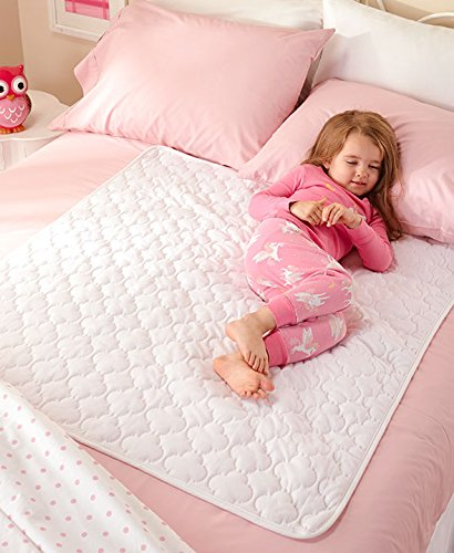 The Lakeside Collection 2-Pk. Washable Waterproof Bed Pads